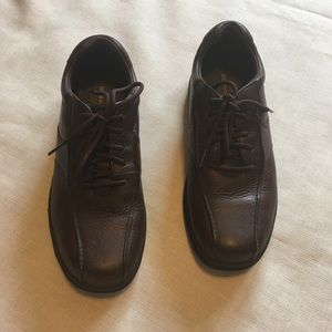 Rockport Brown Leather Shoes Size 8.5